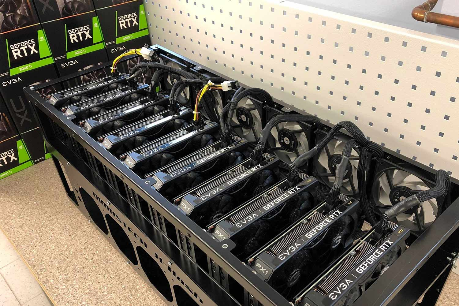 Bitmain Stops Selling Crypto Miners
